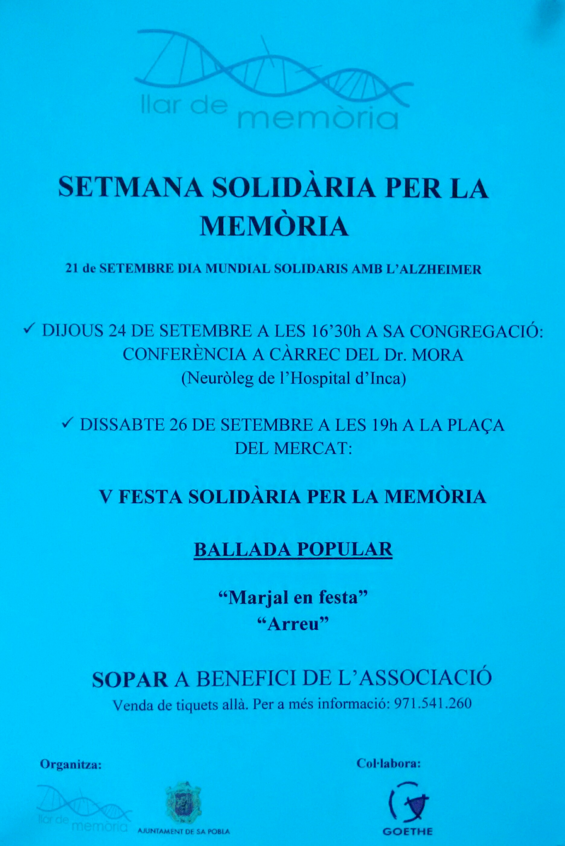 Setmana solidària 2015